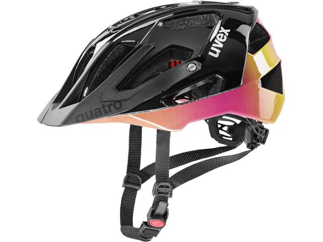 UVEX Quatro Helmet future black